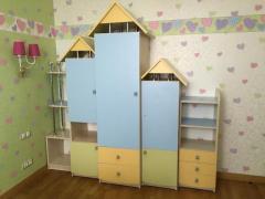 полностью готовая детская комната