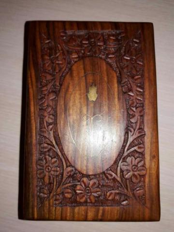 Шкатулка деревянная, авторской работы