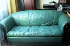 Раскладной кожаный диван в Берлине