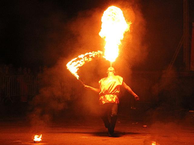Огненное шоу в Берлине на любой праздник