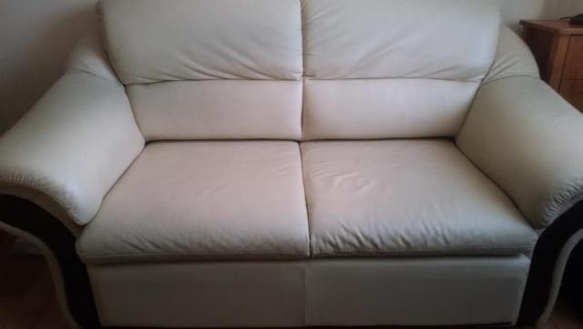 Я продам кожаный диван-кровать