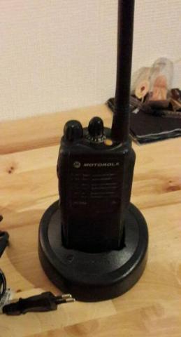 Полностью рабочая рация Motorola за 99 €
