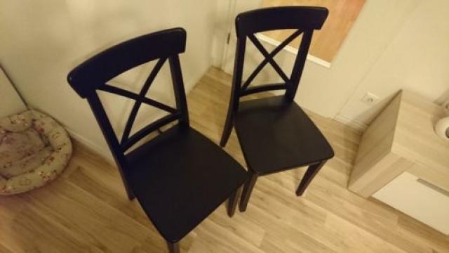 Продам в Берлине 4  коричневых стула IKEA