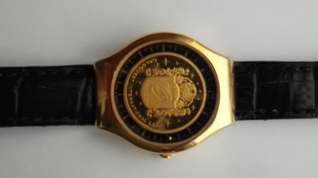 Numismatic masterpiece.Luxurious und innovative timepiece