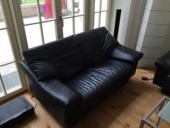 Кожанный диван, кресло Rolf Benz