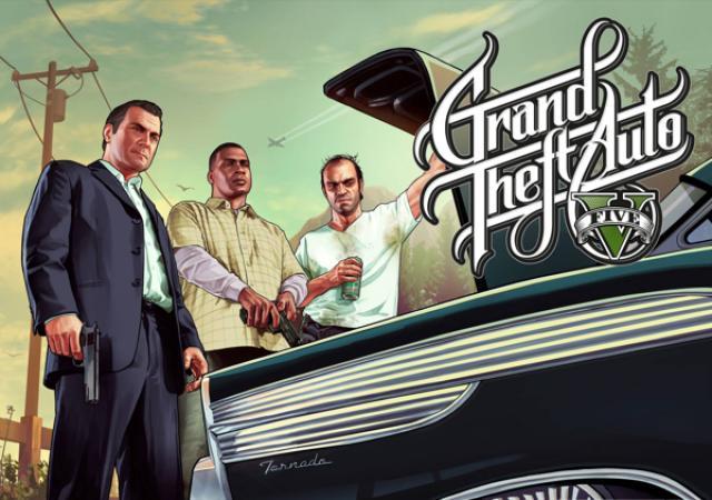 Продам Grand Theft Auto V для Playstation 4