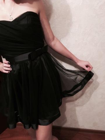 Продам красивое вечернее платье (идеальное состояние)